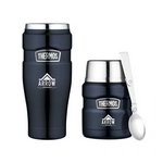 Thermos Stainless King Travel Gift Set Midnight Blue