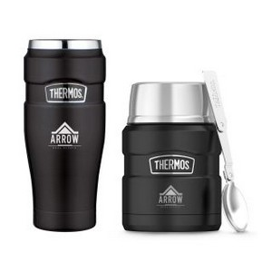 Thermos Stainless King Travel Gift Set Matte Black