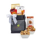 Avalanche of Gourmet Treats Igloo Cooler - Gunmetal Grey