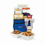 Everyday Sweets and Savory Gourmet Carry Caddy Royal BLue