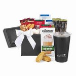 Executive Gourmet Keepsake Box & Aviana  Gift Set Black