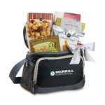 Rangeley Gourmet Snack Pack Cooler Black