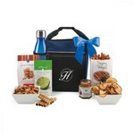Spirited Gourmet Lunch Break Cooler with Geyser Bottle Gift Set N