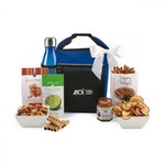 Spirited Gourmet Lunch Break Cooler with Geyser Bottle Gift Set R