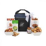 Spirited Gourmet Lunch Break Snacks Cooler Navy