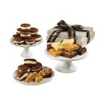 Whoopie Pie Gems & Brownie Combo Tower Grey and White