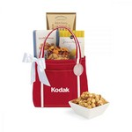 Piccolo Grab N' Gourmet Treats Tote Red