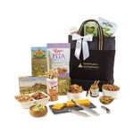 Entertainment on the Go Gourmet Tote Black