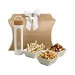 Bali Retreat & Relax Treats Tote -  Natural-White
