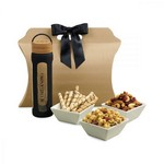 Bali Retreat & Relax Treats Tote Natural-Black