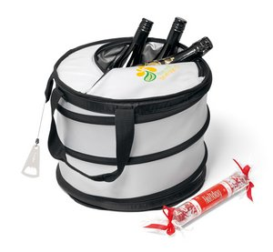 Collapsible Party Cooler - Silver