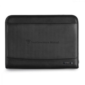 Samsonite Parker Leather Padfolio Black