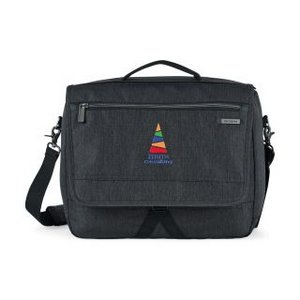 Samsonite Modern Utility Computer Messenger Bag -  Charcoal /Heather