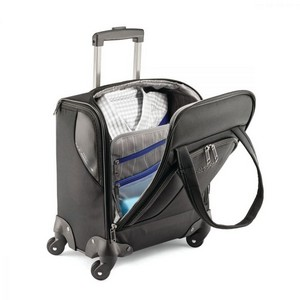American Tourister  Zoom Spinner Underseat Carry-On Black