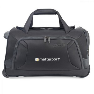 American Tourister  Zoom 22in Wheeled Duffel Black