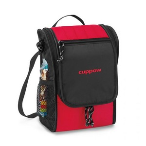 Carver Lunch Cooler Red Lunch Bag
