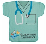 Scrubs Jersey Shaped Rally Towel -Sublimated