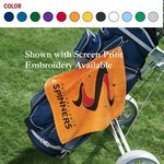 Jewel Collection Soft Touch Golf Towel -Embroidered