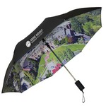 Double Canopy Std Digital Printed Windproof Umbrella