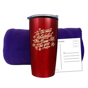 20 oz Economy Stainless Steel Tumbler With Plastic PP Liner