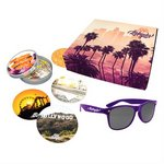 Destination Location Los Angeles Gift Set - Coaster & Sunglasses