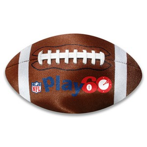 Football Shaped Microfiber Cleaning Cloth