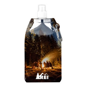 Full Color Metro Collapsible Water Bottle