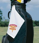 Turkish Signature Fingertip Golf Towel