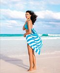 Turkish Custom Cabana Stripe Beach Towel