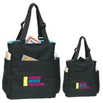 Quad Access Tote Bag